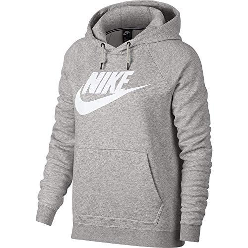 Pâle Sweat Nsw W Chiné Nike Hoodie gris Rally Femme Hbr blanc shirt Gris qXPnUnwSxB