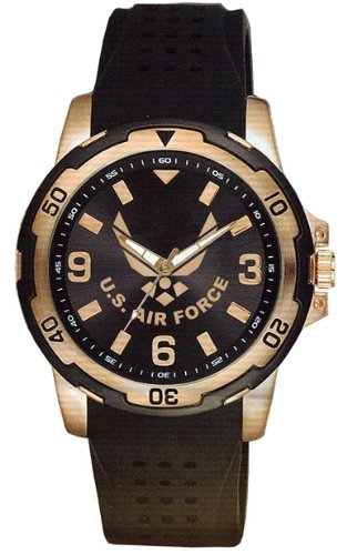 Aqua-Force-Air-Force-Rose-Gold-Watch-with-40mm-Face