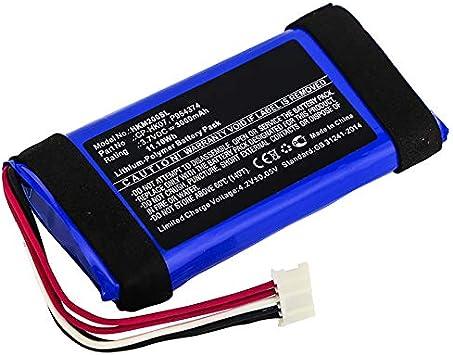 CELLONIC® Batería Premium Compatible con Harman Kardon Onyx Mini, CP-HK07, P954374 3000mAh Pila Repuesto bateria