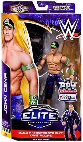 Mattel WWE Wrestling Elite Wrestlemania 30 John Cena Exclusive Action Figure [Chair]