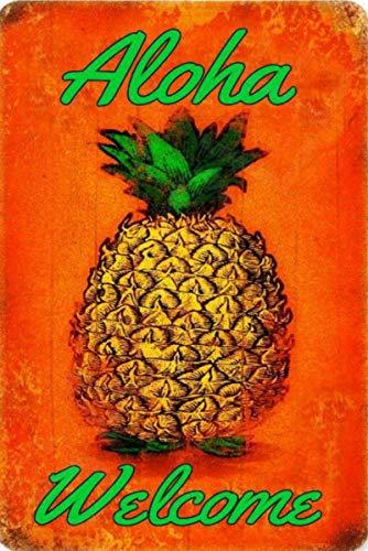 (Aloha Welcome Tiki Bar Sign 8