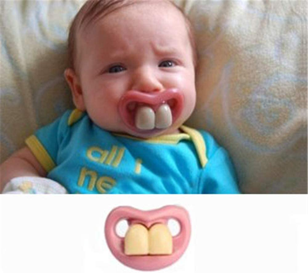 Fashion Funny Baby Dummy Dummies Pacifier Prank Novelty Teeth Child Lip Soother Amazon Ca Home Kitchen Big collection of photo fun effects online. fashion funny baby dummy dummies