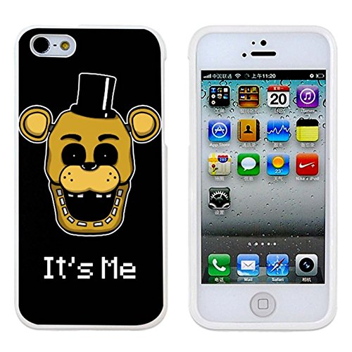 Five Nights At Freddy S Fnaf Golden Freddy It S Me Case Cover Your Iphone 5/5s Case And Iphone 5 Case ( Black Hard Plastic - Usps Worldwide Shipping