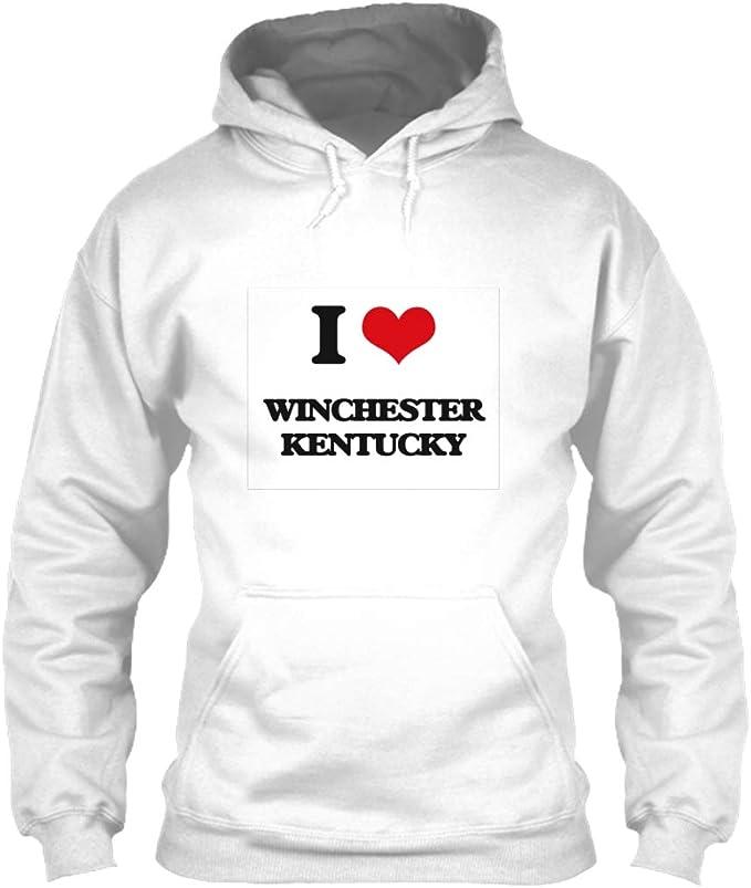 I Love Heart Winchester Black Sweatshirt