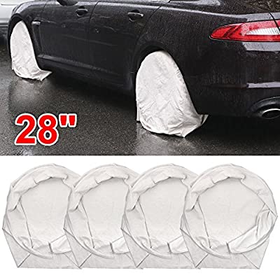 Chonlakrit New Set Of 4 Wheel Tire Covers For RV Trailer Camper Car Truck And Motor Home