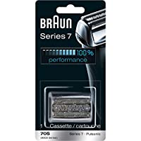 Braun Pulsonic Series 7 70S Cabeza de reemplazo de papel de aluminio y cortador, Compatible con los modelos 790cc, 7865cc, 7899cc, 7898cc, 7893s, 760cc, 797cc, 789cc