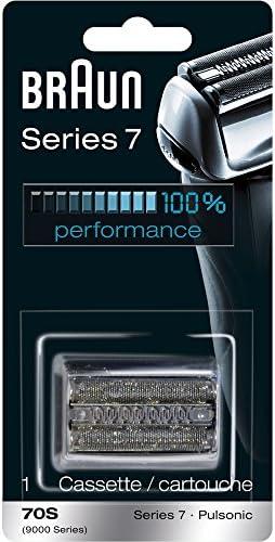 Braun Afeitadora Series 7 años 70 piezas de repuesto, papel aluminio cabeza: Amazon.es: Belleza