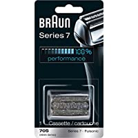 Braun Pulsonic Series 7 70S Foil and Cutter Replacement Head Compatible with Models 790cc, 7865cc, 7899cc, 7898cc, 7893s, 760cc, 797cc, 789cc