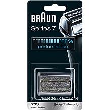 Braun Pulsonic Series 7 70S Foil & Cutter Replacement Head, Compatible with Models 790cc, 7865cc, 7899cc, 7898cc, 7893s, 760cc, 797cc, 789cc