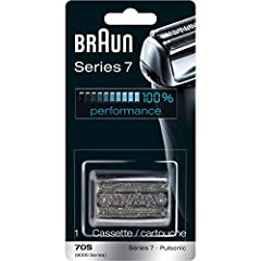 Get your shaver back to 100% performance with the Braun Series 7 70s replacement head. Braun recommends changing your shaver's blades every 18 months to maximize shaving performance and comfort. With this shaver head you will get back to the ...