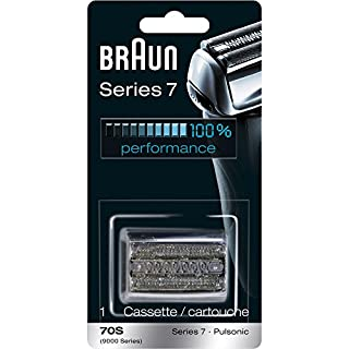 Braun Pulsonic Series 7 70S Foil & Cutter Replacement Head, Compatible with Models 790cc, 7865cc, 7899cc, 7898cc, 7893s, 760cc, 797cc, 789cc (B001VEK1HQ) | Amazon price tracker / tracking, Amazon price history charts, Amazon price watches, Amazon price drop alerts