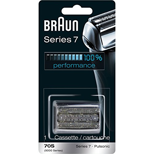 (Braun Pulsonic Series 7 70S Foil & Cutter Replacement Head, Compatible with Models 790cc, 7865cc, 7899cc, 7898cc, 7893s, 760cc, 797cc, 789cc)