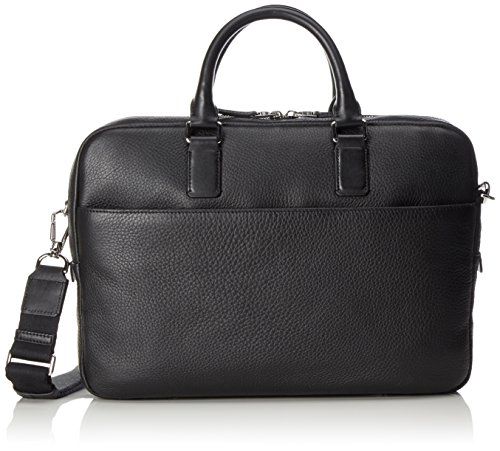 Ecco Jos Laptop Bag 13inch - Borse per PC portatili Uomo, Schwarz (Black), 7x27x37 cm (B x H T)