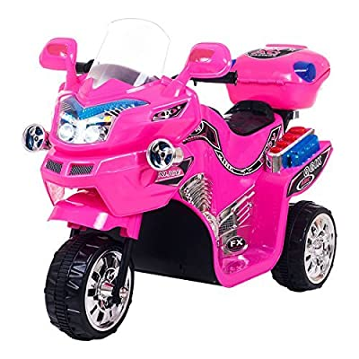 Lil' Rider Fx Wheel 6v Battery Powered Motorcycle, Kids Electric Motorcycle, Pink: Toys & Games