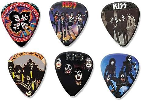 KISS Set of 6 Loose Gitarre Plektrum Púa Para Guitarra Picks ...