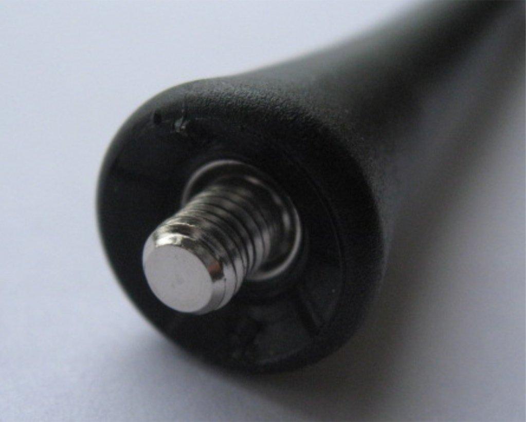 Plus Black Genuine Replacement AM//FM Aerial Mast Antenna Roof Screw in Type
