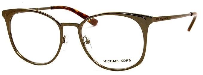 Michael Kors 0MK3022, Monturas de Gafas para Mujer, Coffee, 53: Amazon.es: Ropa y accesorios