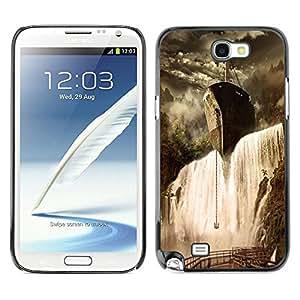 Dragon Case - FOR Samsung Note 2 N7100 - is worth doing - Caja protectora de pl??stico duro de la cubierta Dise?¡Ào Slim Fit