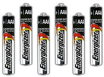 Amazon Com Six Energizer Aaaa Alkaline Batteries For Streamlight