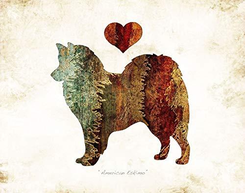 Breed Watercolor Art Print by Dan Morris ()