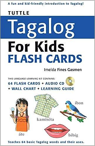 Tuttle tagalog for kids flash cards kit includes 64 flash cards tuttle tagalog for kids flash cards kit includes 64 flash cards audio cd wall chart learning guide tuttle flash cards imelda fines gasmen ccuart Image collections