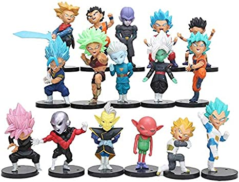 NEW Exquisite PVC Anime Dragon Ball Gokou//Veget Model Action Figure Toy with Box