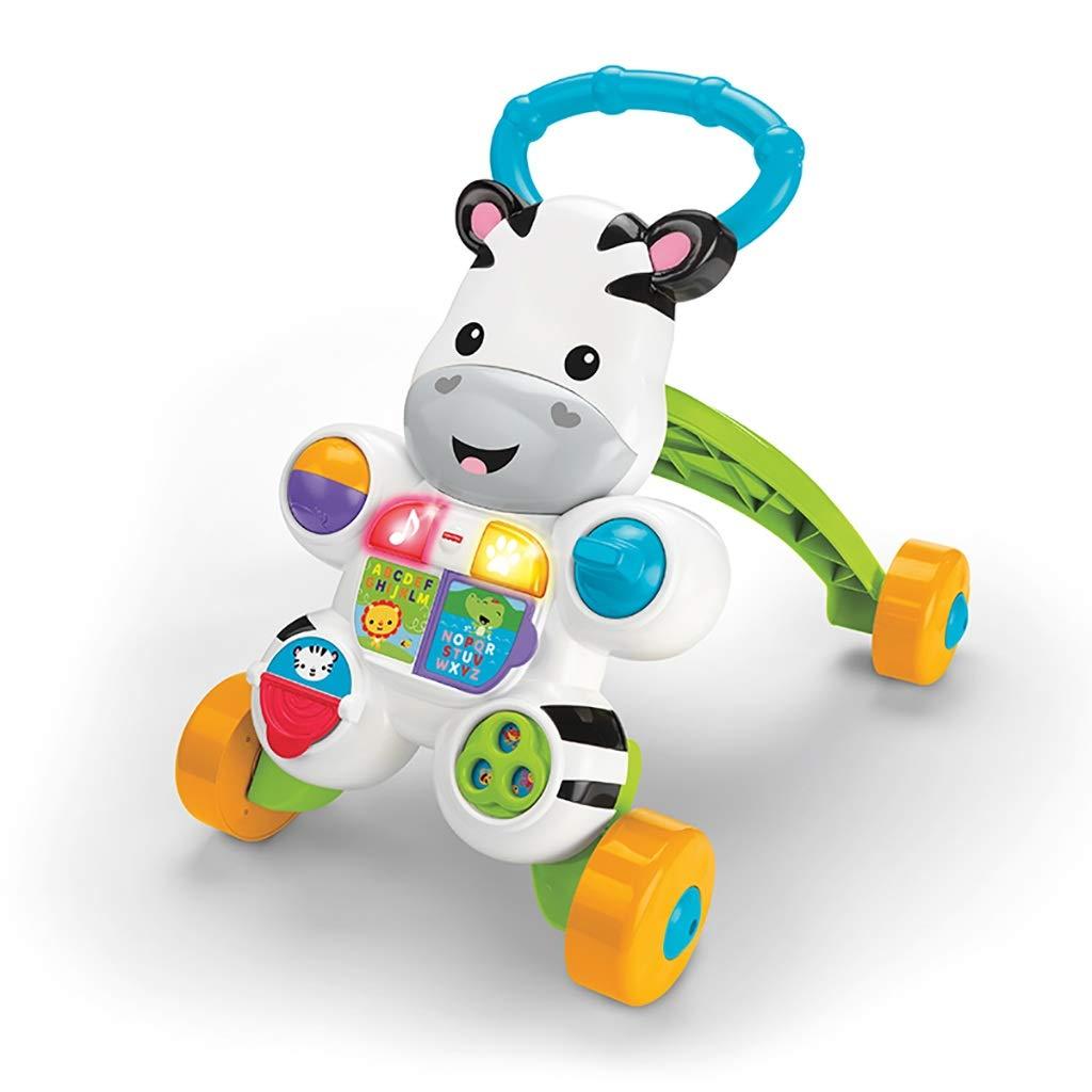 赤ちゃんや幼児の歩行者と音楽と音の電子教育玩具   B07QKNLHPC