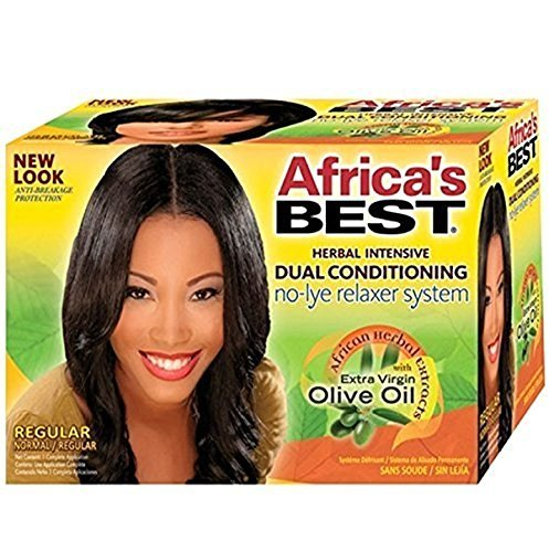 (Africa's Best Dual Conditioning No-Lye Relaxer System Regular)