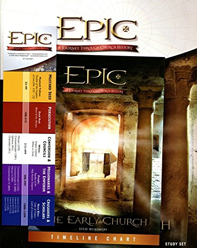Epic: Early Church Student Workbook (10 Part Study)