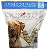 Checkups- Dental Dog Treats, 24ct 48 oz. for dogs 20+ pounds (2 Bags, 48 Count Total) Review