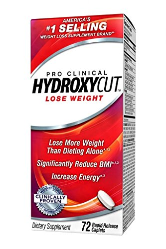 Hydroxycut Pro Clinical 72ct Weight Loss Pills (72ct 2 - pack)