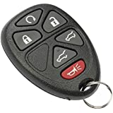 APDTY 24825 Keyless Entry Remote Key Fob Transmitter Fits (View Chart) 2007-2010 Chevy Tahoe / GMC Yukon / Cadillac Escalade / Chevy Suburban (6-Button; w/Power Liftgate; w/Lift Glass; w/Remote Start) (OE GM #: 15913427 20869057 22756462)
