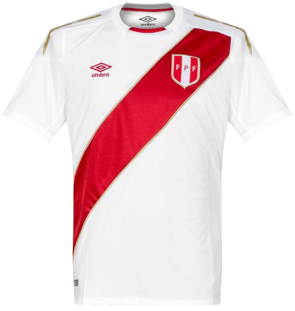 Umbro 2018-2019 Peru Home Football Shirt (Kids): Amazon.es: Deportes y aire libre