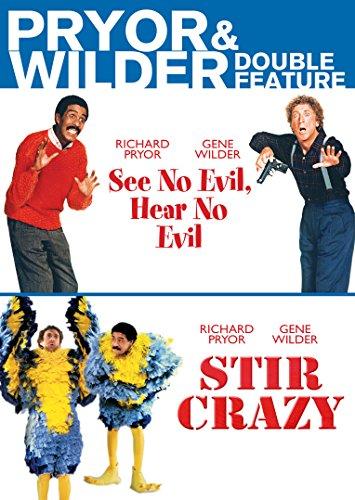Pryor & Wilder Double Feature (See No Evil, Hear No Evil, Stir Crazy)