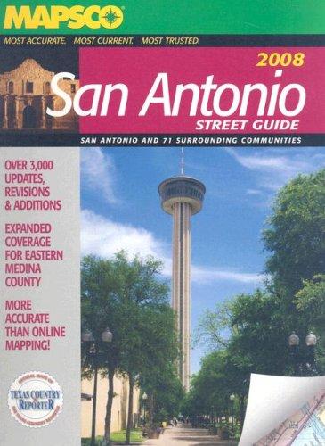 San Antonio Street Guide (Mapsco Street Guide and Directory San Antonio)
