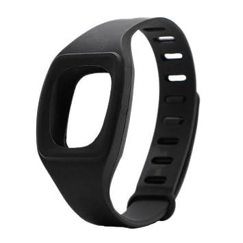 Fitbit HopCentury pulsera remotesreplaced cremallera correa con hebilla de Metal sujetador brazalete accesorio para Fitbit ZIP acabijo Negro negro: ...