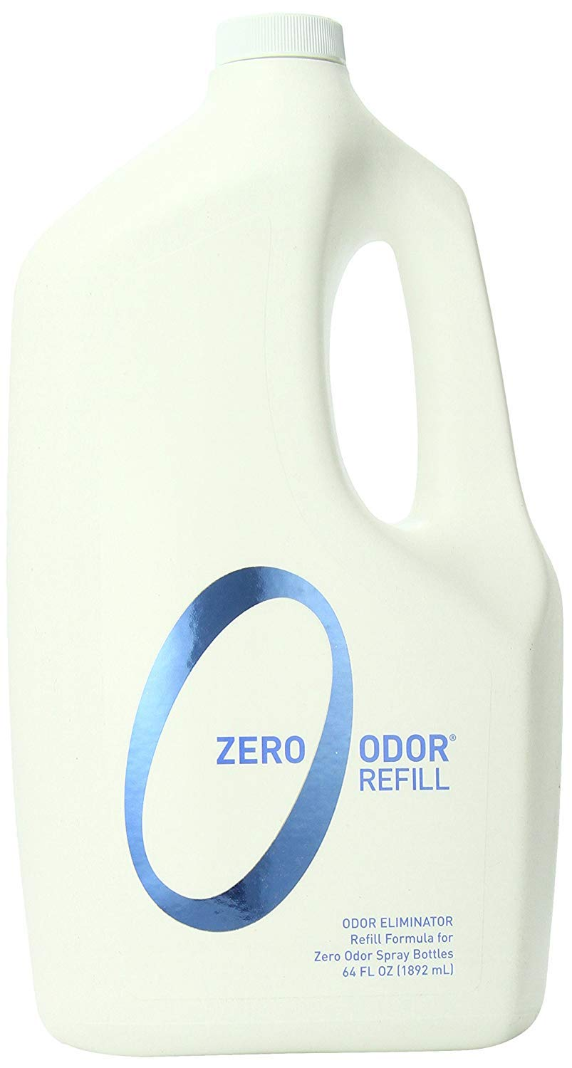 Zero Odor General Household Odor Eliminator Refill Pack, 64-Ounce, 2-Pack