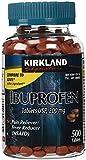 Kirkland Signature USP Ibuprofen, 200 mg, 500 Tablets