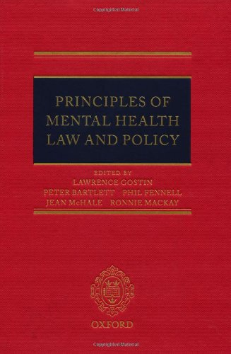 Principles of Mental Health Law and Policy by Oxford University Press