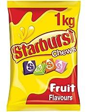Starburst Original Fruit Chews Lollies, 1kg Party Size Bag