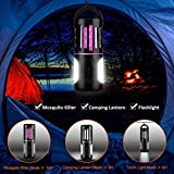 2 in 1 Bug Zapper, Rechargeable LED Camping