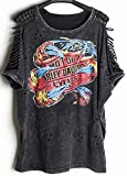 Search : Cinyifan Womens Fashion Rock Punk Style T Shirt Blouse Tops