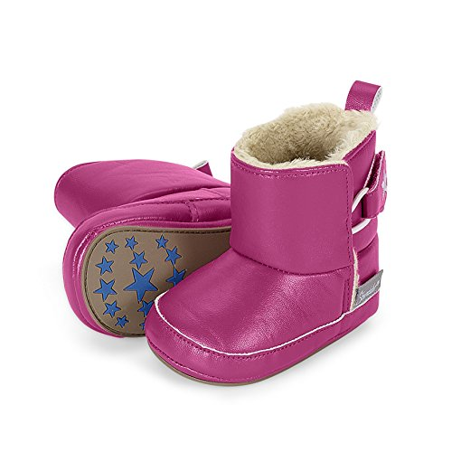Sterntaler Schuh - Zapatillas de casa Bebé-Niños Rosa - Pink (Dahlie 766)