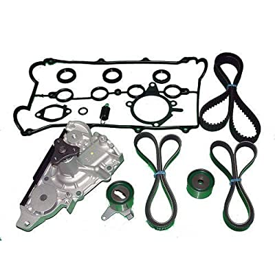 Timing Belt Kit Replacement for Mazda Miata (1994 1995 1996 1997 1998 1999 2000) Water Pump Tensioners seal belts and valve cover gasket: Automotive