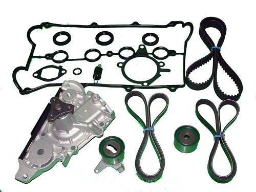 Timing Belt Kit Replacement for Mazda Miata (1994 1995 1996 1997 1998 1999 2000) Water Pump Tensioners seal belts and valve cover gasket (Mazda Miata Koyo Radiator)