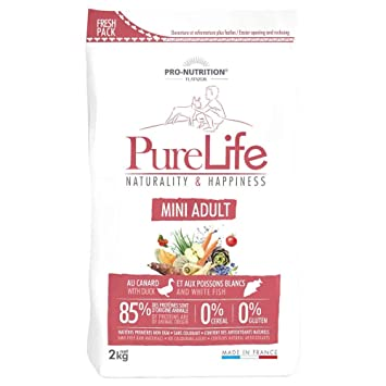 Pro Nutrition flatazor - Pure Life Mini adulto 2 kgs: Amazon.es: Productos para mascotas