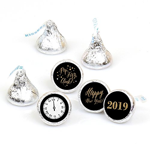 New Year's Eve - Gold - Round Candy