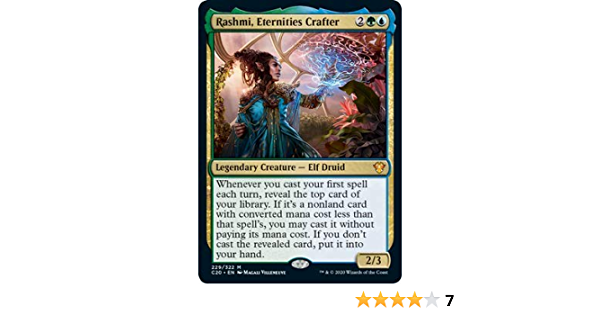 Rashmi Eternities Crafter Near Mint Normal English Commander 2020 Ikoria Card