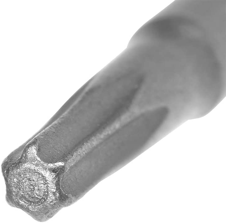 sourcing map 10pz 50mm 1//4 gambo esagonale T10 magnetico testa Torx punte cacciavite S2 alta lega acciaio