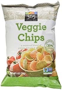 365 Everyday Value Veggie Chips, 6 oz